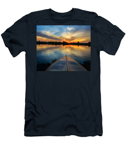 Men's T-Shirt (Athletic Fit) featuring the photograph Cottage Country's Silhouette by Garvin Hunter