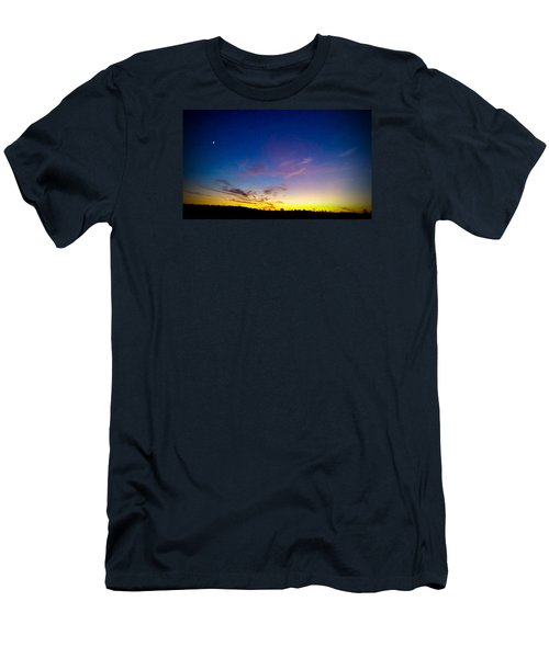 Cotton Candy Clouds Men's T-Shirt (Athletic Fit)
