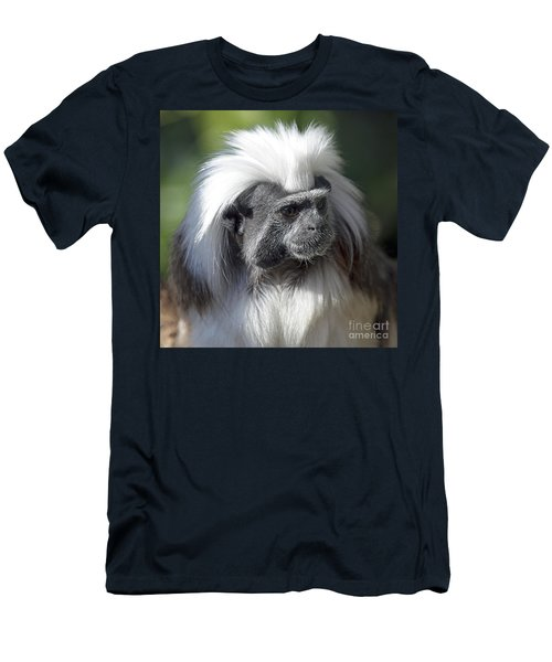 Cottontop Tamarin Saguinus Oedipus Men's T-Shirt (Athletic Fit)