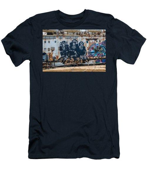 Council Of Monkeys 2 Men's T-Shirt (Athletic Fit)