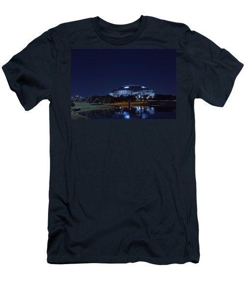 Cowboys Stadium Game Night 1 Men's T-Shirt (Athletic Fit)