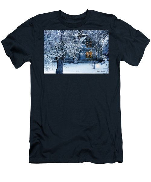 Men's T-Shirt (Athletic Fit) featuring the photograph Cozy by Gunter Nezhoda
