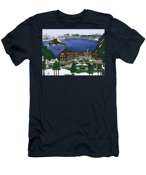 Crater Lake National Park Men's T-Shirt (Athletic Fit)