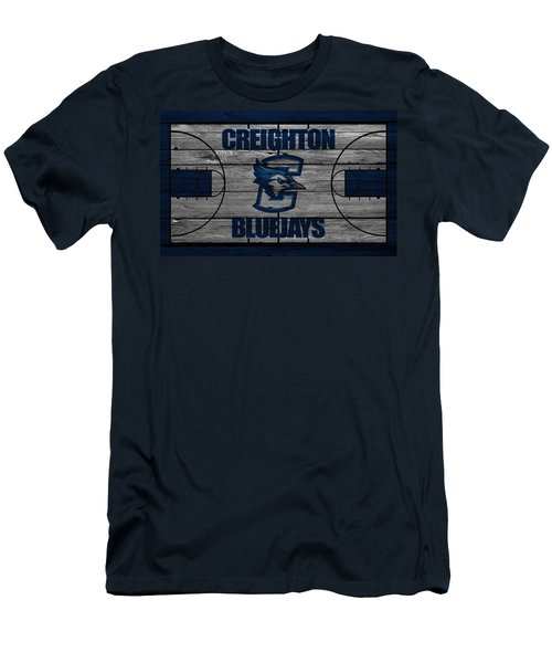 Creighton Bluejays Men's T-Shirt (Athletic Fit)