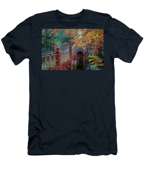 Crim Dell Bridge At William And Mary Men's T-Shirt (Athletic Fit)