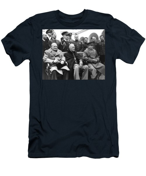 Crimean Conference In Yalta Men's T-Shirt (Athletic Fit)