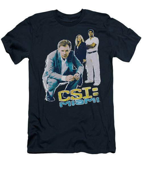 Csi:miami - In Perspective Men's T-Shirt (Athletic Fit)