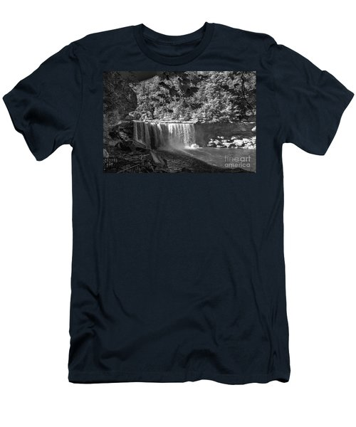 Cumberland Falls Six Bw Men's T-Shirt (Athletic Fit)