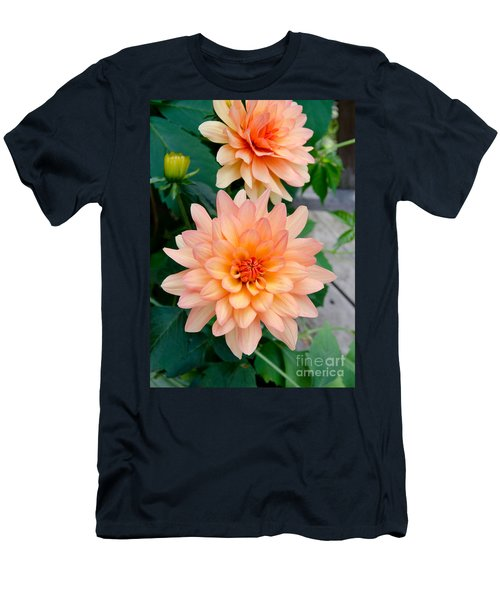 Dahlias Men's T-Shirt (Athletic Fit)