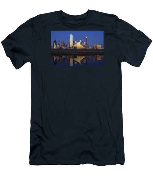 Dallas Twilight Men's T-Shirt (Slim Fit) by Rick Berk