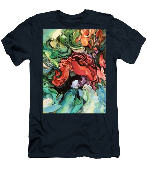 Dancing For Joy - Original Artwork - Paintings Men's T-Shirt (Athletic Fit)