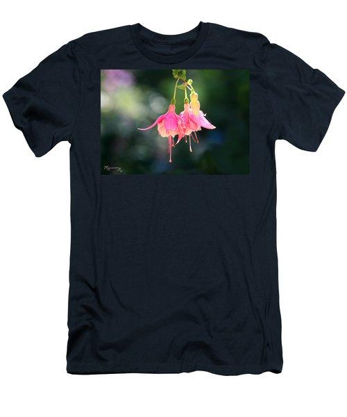 Dancing In The Wind Men's T-Shirt (Slim Fit) by Mariarosa Rockefeller