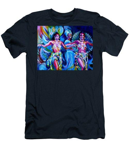 Dancing Panama Men's T-Shirt (Athletic Fit)
