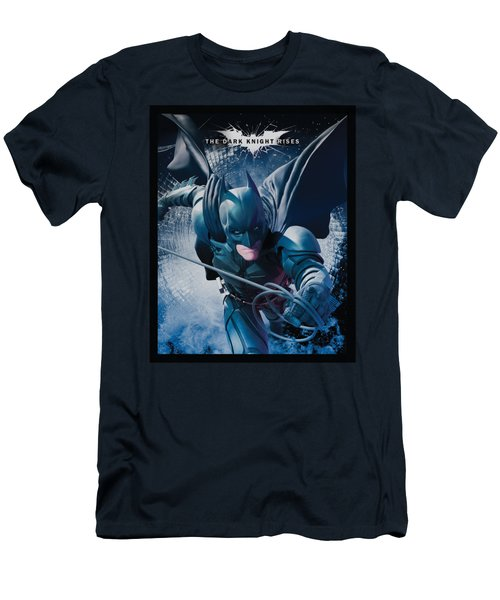 Dark Knight Rises - Swing Into Action Men's T-Shirt (Athletic Fit)