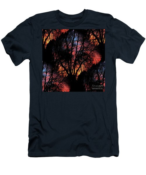 Sunrise - Dawn's Early Light Men's T-Shirt (Slim Fit) by Luther Fine Art