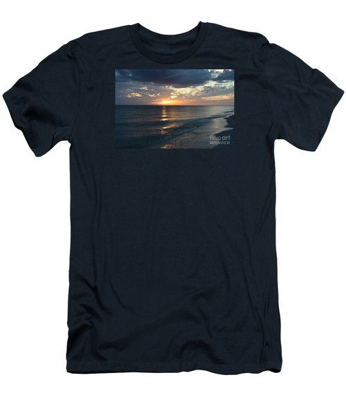 Days End Over Sanibel Island Men's T-Shirt (Slim Fit) by Christiane Schulze Art And Photography