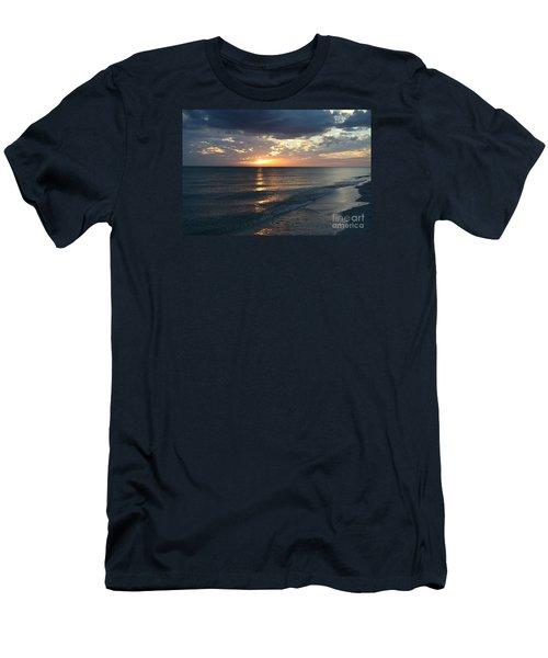 Days End Over Sanibel Island Men's T-Shirt (Athletic Fit)