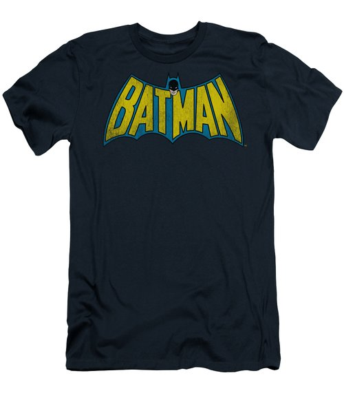 Dc - Classic Batman Logo Men's T-Shirt (Slim Fit) by Brand A