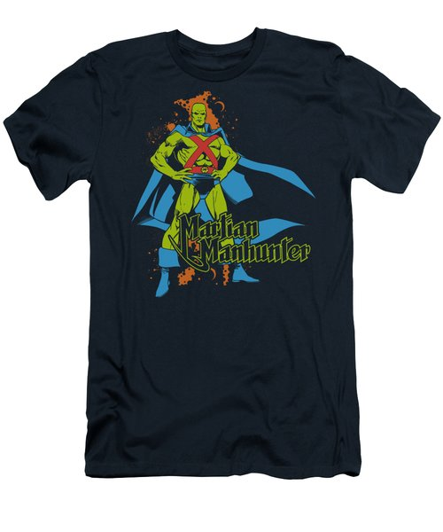 Dc - Martian Manhunter Men's T-Shirt (Athletic Fit)