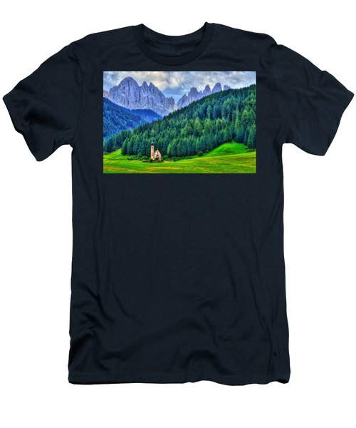 Deep In The Mountains Men's T-Shirt (Slim Fit) by Midori Chan