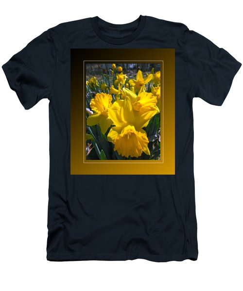 Delightful Daffodils Men's T-Shirt (Athletic Fit)