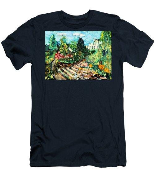 Delphi Garden Men's T-Shirt (Athletic Fit)