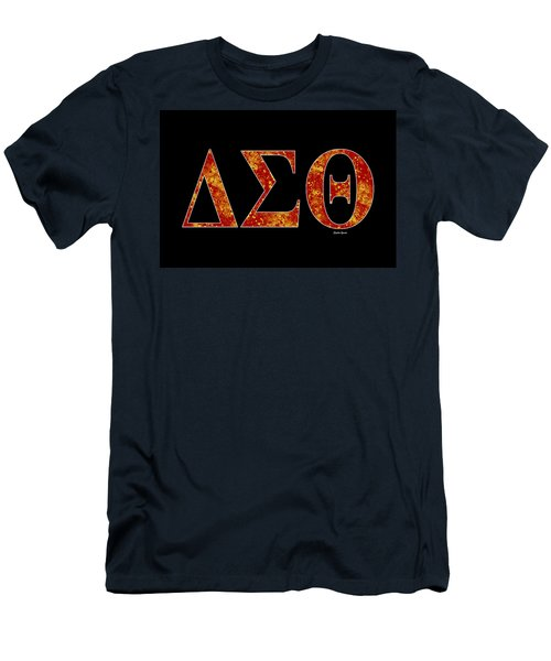 Delta Sigma Theta - Black Men's T-Shirt (Athletic Fit)
