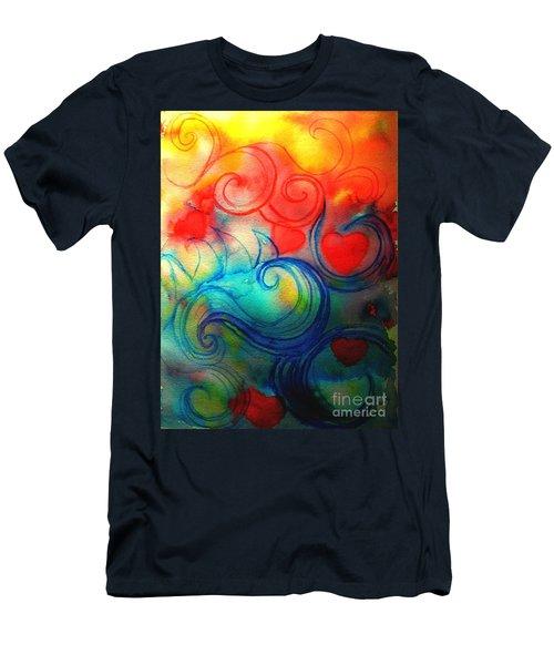 Depths Of His Love Men's T-Shirt (Slim Fit) by Hazel Holland