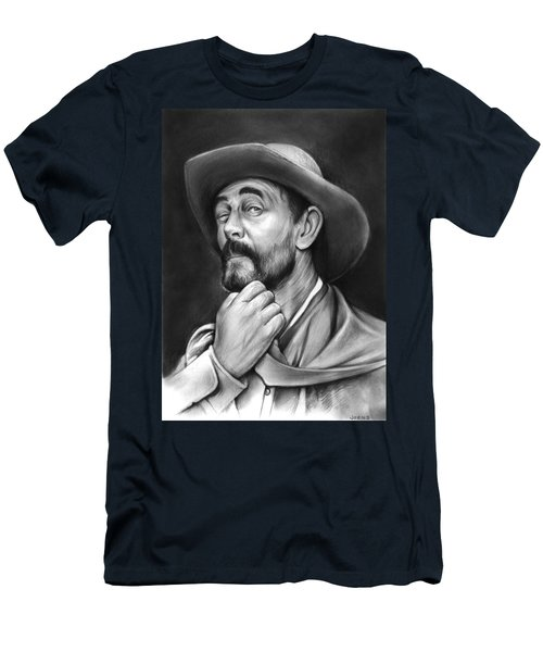 Deputy Festus Haggen Men's T-Shirt (Slim Fit) by Greg Joens