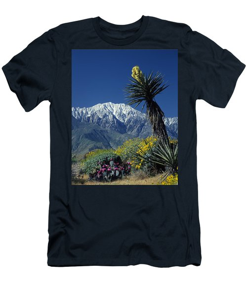 Desert Blooms Men's T-Shirt (Athletic Fit)