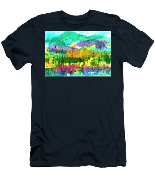Desert In The Spring Men's T-Shirt (Athletic Fit)