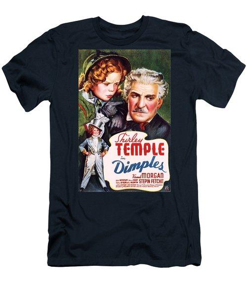 Dimples Men's T-Shirt (Slim Fit) by Movie Poster Prints