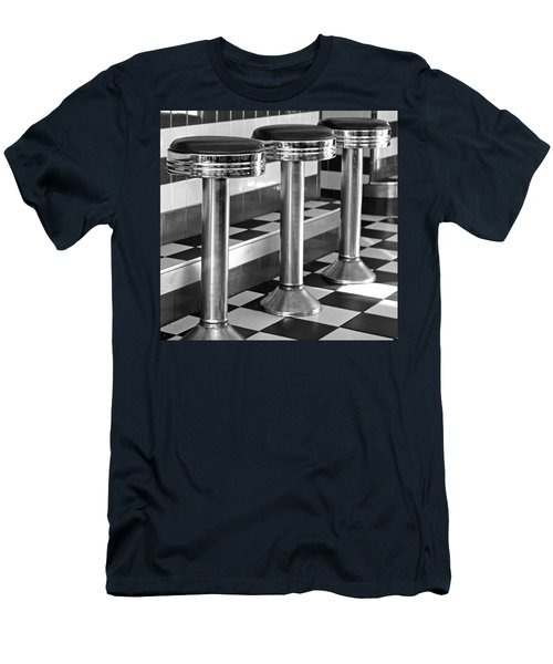 Diner Stools Men's T-Shirt (Athletic Fit)