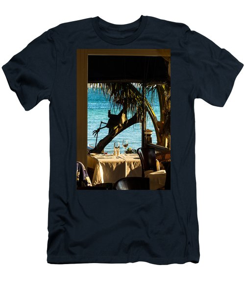 Dining For Two At Louie's Backyard Men's T-Shirt (Athletic Fit)