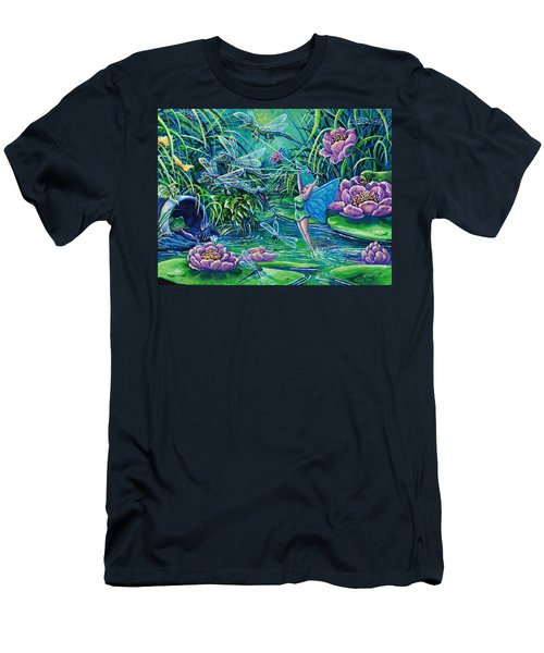 Dragonflies Men's T-Shirt (Athletic Fit)