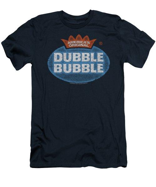 Dubble Bubble - Vintage Logo Men's T-Shirt (Athletic Fit)