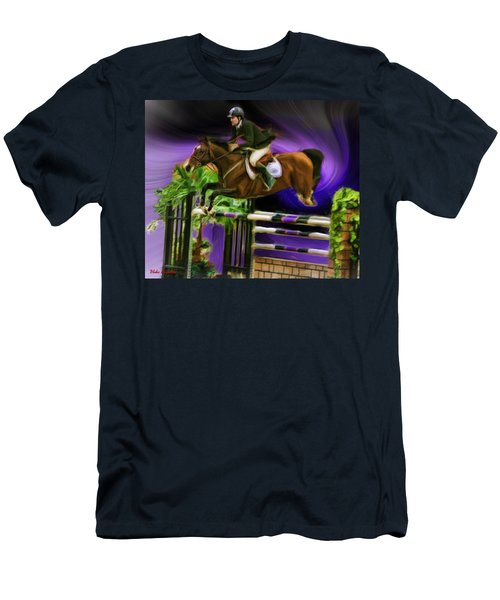 Duncan Mcfarlane On Horse Mr Whoopy Men's T-Shirt (Athletic Fit)