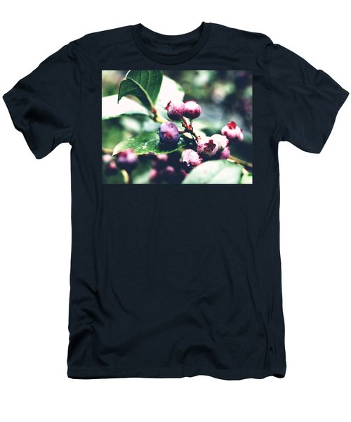 Early Blueberries Men's T-Shirt (Athletic Fit)