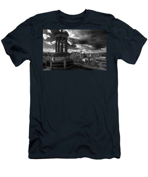 Edinburgh From Calton Hill Men's T-Shirt (Athletic Fit)