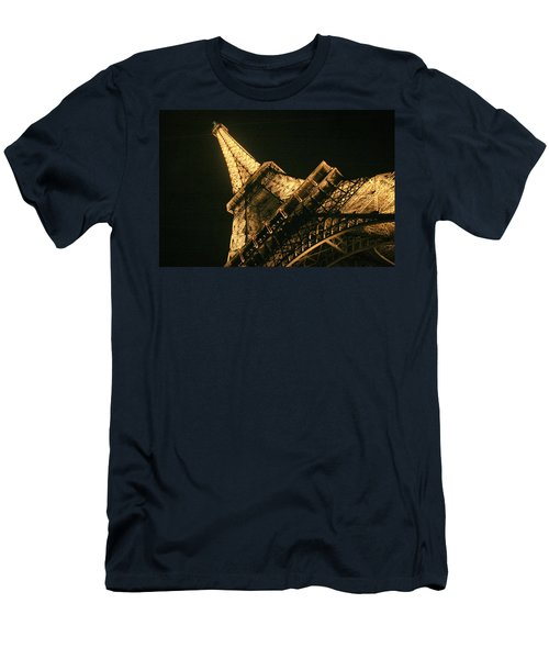 Men's T-Shirt (Slim Fit) featuring the photograph Eiffel by Silvia Bruno