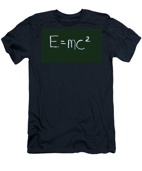 Einstein Formula Men's T-Shirt (Athletic Fit)