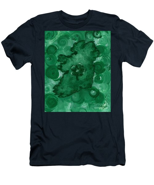 Eire Heart Of Ireland Men's T-Shirt (Slim Fit) by Alys Caviness-Gober