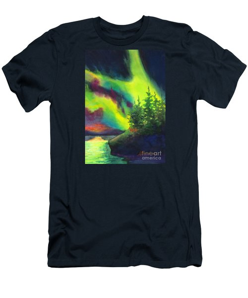 Electric Green In The Sky 2 Men's T-Shirt (Athletic Fit)