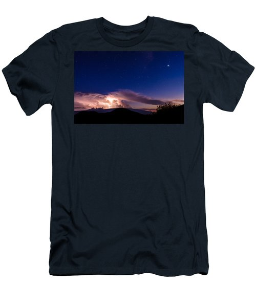 Electric Heavens 1 Men's T-Shirt (Athletic Fit)