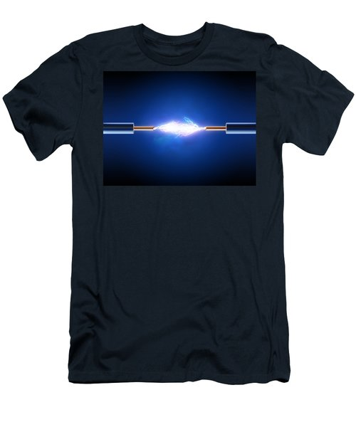 Electric Current / Energy / Transfer Men's T-Shirt (Athletic Fit)