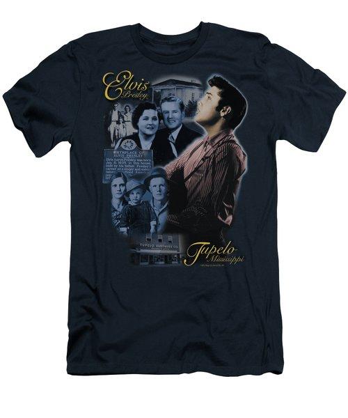 Elvis - Tupelo Men's T-Shirt (Athletic Fit)