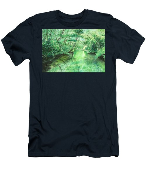 Emerald Stream Men's T-Shirt (Athletic Fit)