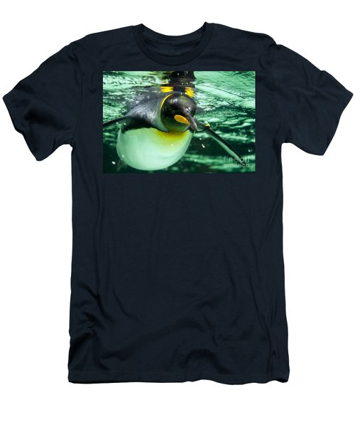 King Penguin Men's T-Shirt (Athletic Fit)