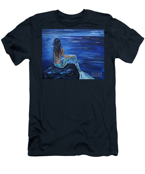Enchanting Mermaid Men's T-Shirt (Athletic Fit)