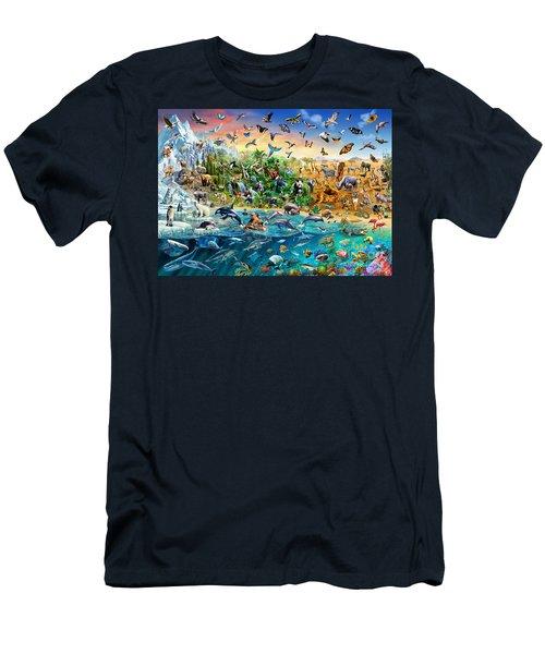 Endangered Species Men's T-Shirt (Athletic Fit)
